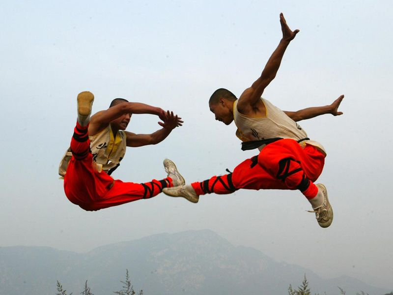 Don't Mess with these Kung Fu fighters ordained by Shaolin Monks ...